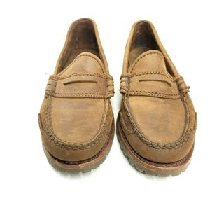 Cole Haan Country Womens Size 6 1/2 Brown Suede